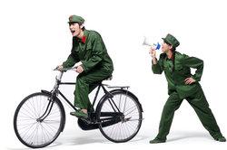 Das Militär stellt unterschiedliche Fahrzeuge für die Mobilität zur Vefügung.