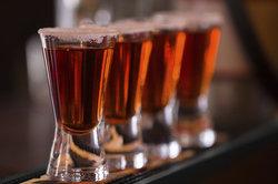 Der Tequila ist eine sehr beliebte Spirituose.