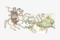 Mit Alexander dem Großen begann der Hellenismus.