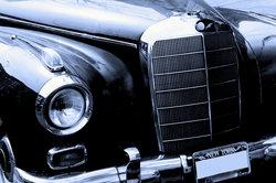 Bei älteren Mercedesmodellen kann es zu Engpässen bei den Ersatzteilen kommen.
