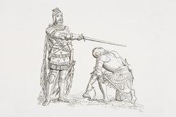 Artus hatte viele Ritter, die an seiner Tafelrunde saßen.