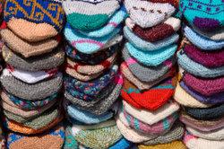 Socken stricken ist wieder in.