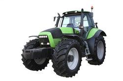 Der Traktor gehört zu dem größten Modell seiner Serie.
