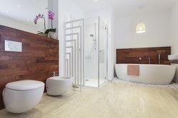 In einem modernen Bad gehört das Bidet dazu.