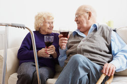 Auch im Seniorenheim gibt es neue Freunschaften.