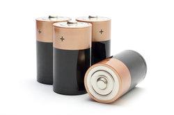 Eine Batterie hilft bei der Fehlersuche.