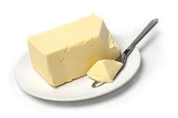Statt Butter kann ebenso Margarine oder Frischkäse verwendet werden.