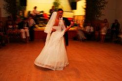 Der erste Tanz des Abends - der Brauttanz
