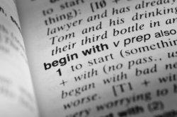 Im Wörterbuch stehen Verben immer im Infinitiv.