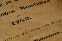 Das Jahr 1789 markiert den Beginn der Französischen Revolution.