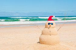 Weihnachten am Strand - so könnte Ihnen Weihnachten gefallen.
