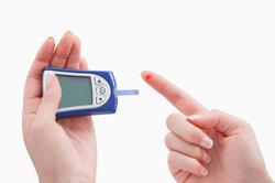 Ein niedriger Blutzuckerspiegel kann zu einem Schock führen.