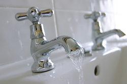 Der Hauswasserdruck sorgt für gleichmäßigen Wasserfluss.