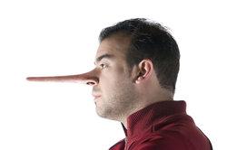 Je mehr Sie lügen, desto länger wird Ihre Nase - Lügen wären so leichter aufzudecken.