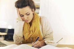 Aufsätze zu schreiben, ist mitunter nicht einfach.