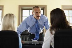 Alles müssen Sie sich nicht gefallen lassen - Schreien in der Arbeit ist ein absolutes Tabu.