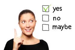 Handlungskompetenz hilft, Entscheidungen zu treffen.