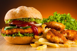 Fast Food gilt als Verursacher von Übergewicht.