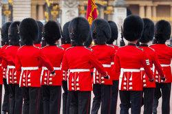 England verfügt über eine gut geschützte Monarchie.