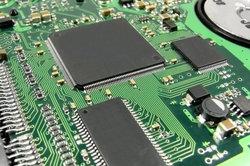 Das BIOS befindet sich auf der Hauptplatine Ihres Rechners.
