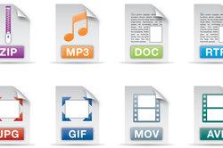 Dateiendungen sagen viel aus über den Inhalt.