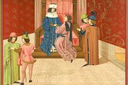 Der König stand an der Spitze des Lehnsverbandes.