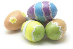 Die Farbe bei Ostereiern ist nicht giftig.