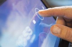 Touchscreens können auf ganz unterschiedlichen Techniken basieren.