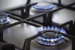 Beim Gasherd wird chemische Energie zu Wärmeenergie entwertet.