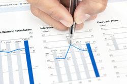 Brüche und Dezimalzahlen finden Sie häufig in wirtschaftlichen Betrachtungen vor.