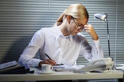 Wer vom Schreiben krank wird, wird krankgeschrieben.
