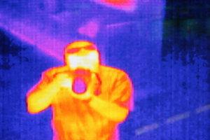 Die Wärmebildkamera-App arbeitet recht zuverlässig.
