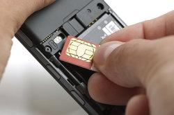 Eine neue SIM-Karte kann Probleme bereiten.