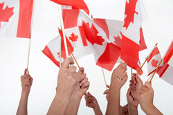 Kanada liegt auf dem nordamerikanischen Kontinent.