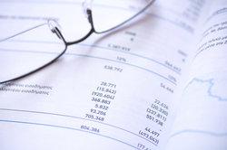 Inventarlisten bilden die Grundlage für eine Bilanz.