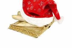 Basteln Sie ein goldenes Nikolausbuch.