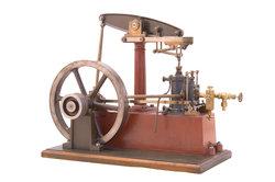 Dampf getriebene Maschinen revolutionierten auch den Bergbau.