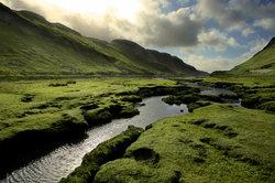 In dieser schottischen Landschaft sollten Sie sich vor dem Kelpie in Acht nehmen.