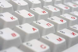 Die russische Tastatur unter Windows und Mac einstellen