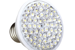 LEDs eignen sich auch als Glühbirnenersatz.