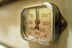 Ein Gasthermometer kann die unterschiedlichsten Temperaturen messen.