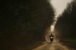 Off-Road-Tour mit dem Motorrad