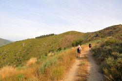 Der Jakobsweg ist eine lange Pilgerstrecke.