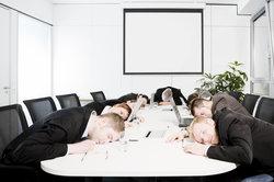 Auch in manchen Büros herrscht tote Hose.