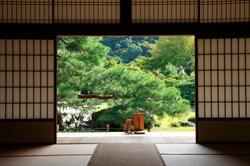 Japanische Türen für angenehme Atmosphären