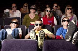 Im Kino können Sie sich Filme angucken.