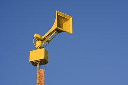 Sirenensignale sollen die Bevölkerung rechtzeitig warnen.