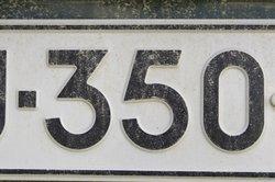 Für KFZ-Kennzeichen gibt es in Deutschland strenge Vorschriften.