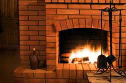 Ein Kaminfeuer gegen andauernde Kälte