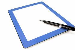 Ein Digitizer ermöglicht präzise Stifteingaben.